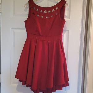 Lulu's Burgundy mini dress